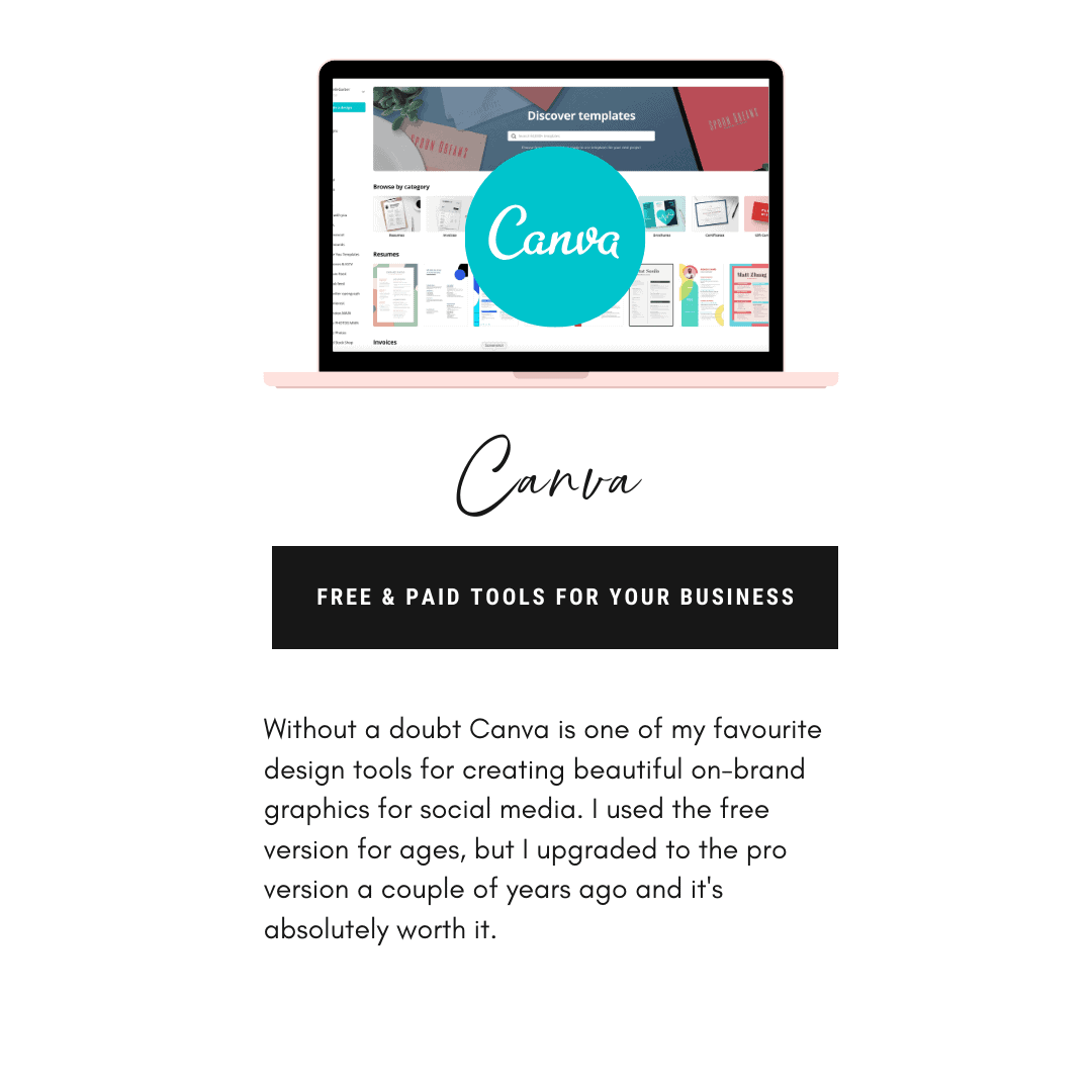 Canva free design tool to create social media graphics