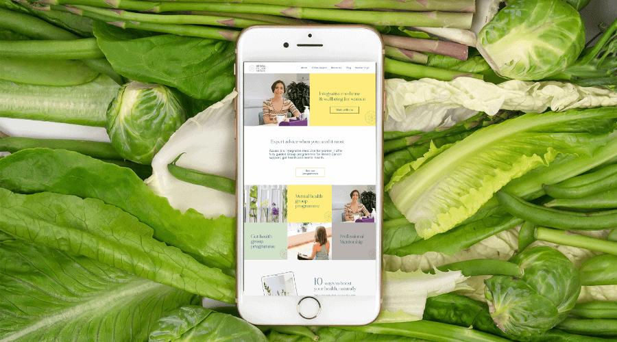 Dr Nina Integrative Medicine Doctor Website-and-Brand Design-iphone