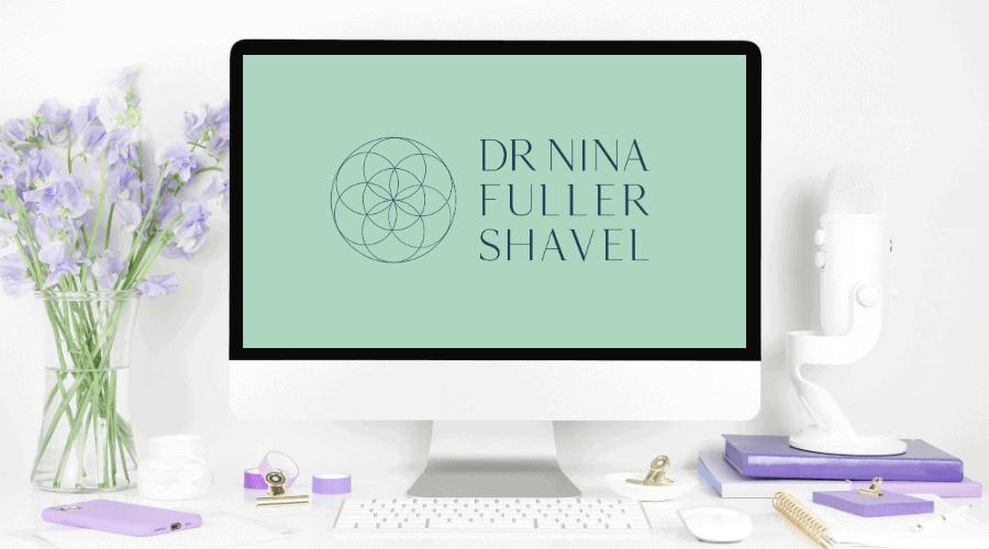 Dr Nina Integrative Medicine Doctor Website-and-Brand Design-logo design