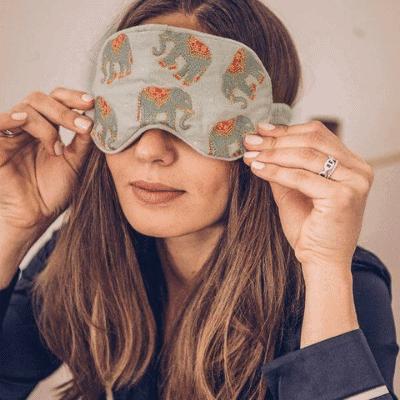 eye mask girl boss gift guide