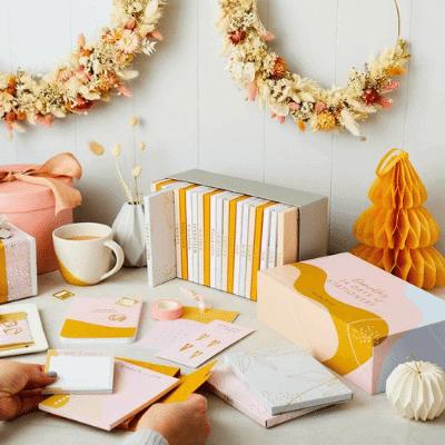 stationery advent calendar girl boss gift guide