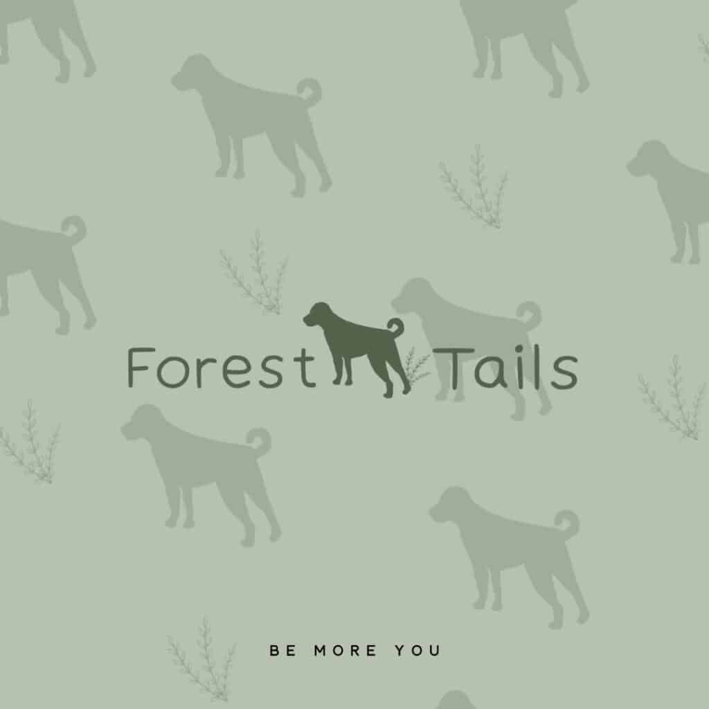 Forest tails main logo Forest tails brand mark Be More You Brand Design