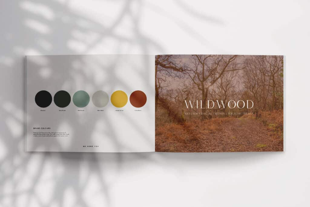 Wildwood brand colour palette_Be-More-You-brand design