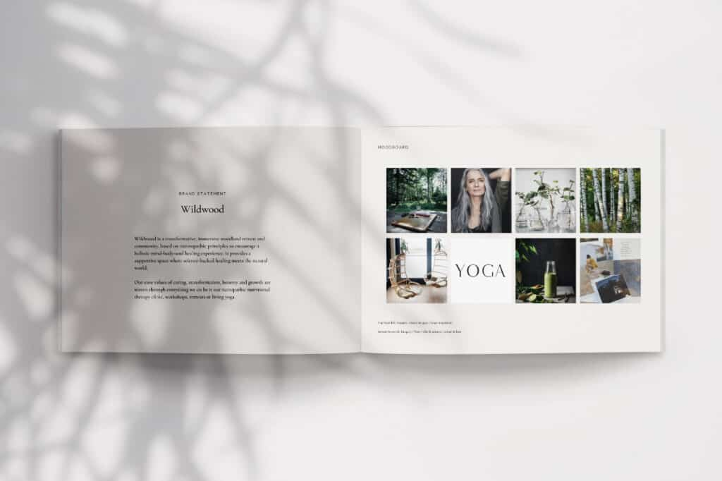 Wildwood brand moodboard _Be-More-You-brand design