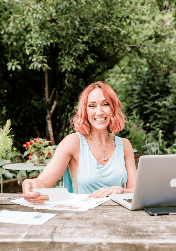 Danielle Garber Brand Strategist- brand and web design