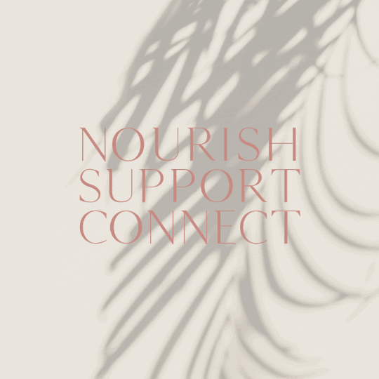 integrative oncology branding nourish support connect logo design branding-logo design brand and web design by be more you
