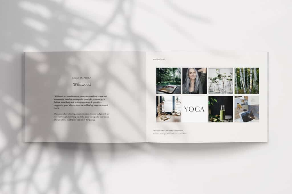 the importance of brand touchpoints - brand moodboard