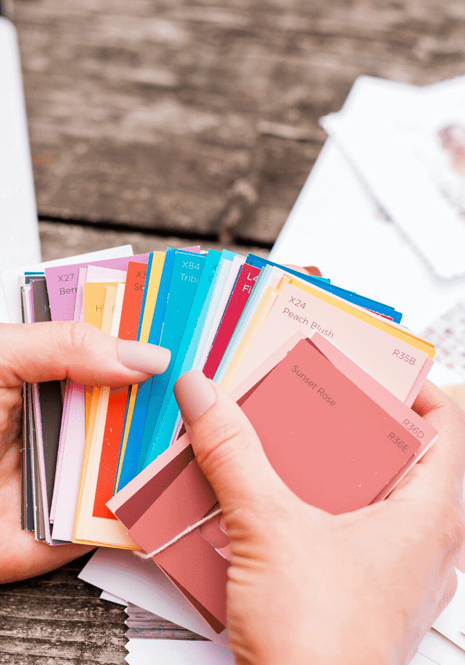 Colour Name Swatches | brand colours