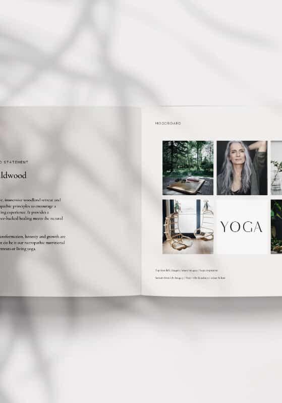 Wildwood brand moodboard _Be-More-You-brand design